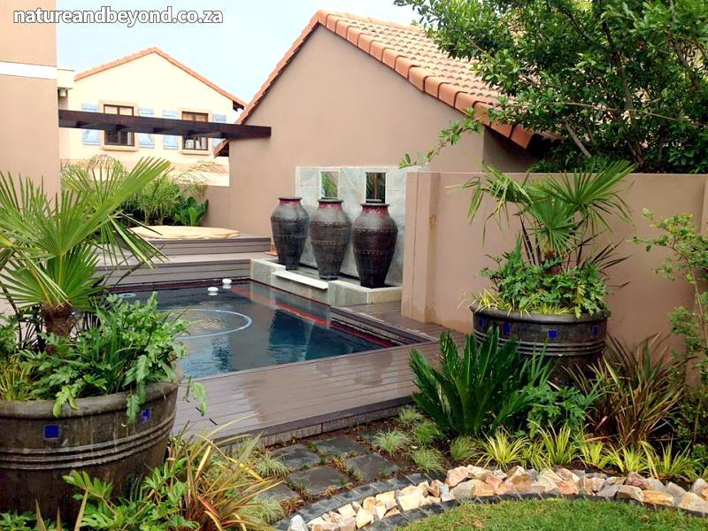Tropical bali johannesburg garden design landscapers for Bali landscape design