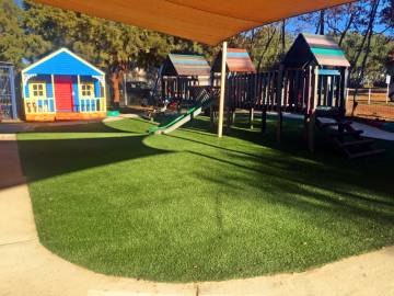 Centurion Christian School synthetic lawn