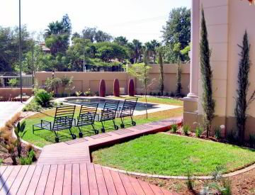 Waterkloof Ridge Pretoria landscaping