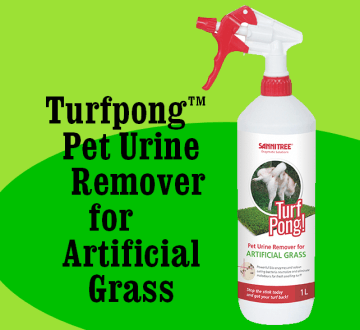 Turfpong(TM) Pet Urine Remover for Artificial Grass